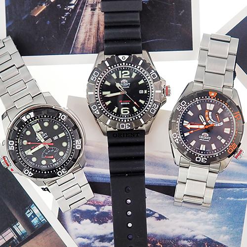 Коллекции часового бренда  Orient